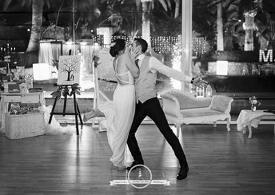 Primer baile en el Pazo de San Fernando. Foto: Danny Goiri